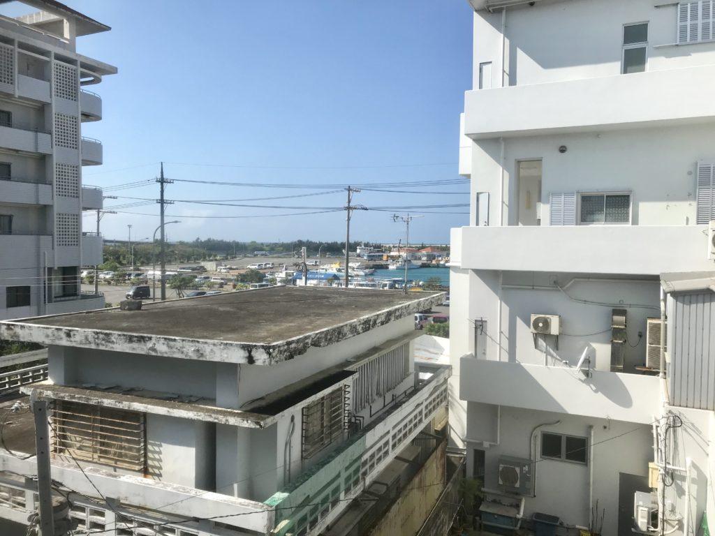 ホテルハッピーホリデー石垣島301号室からの眺め